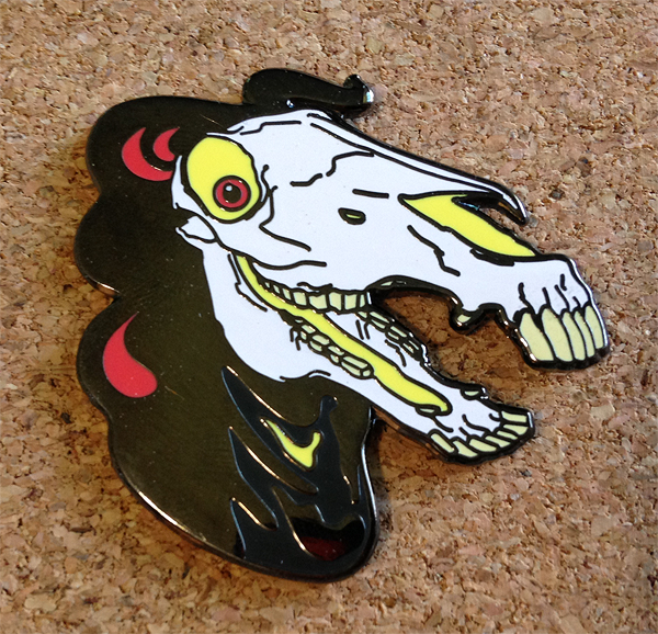 Fred Hard Enamel Pin