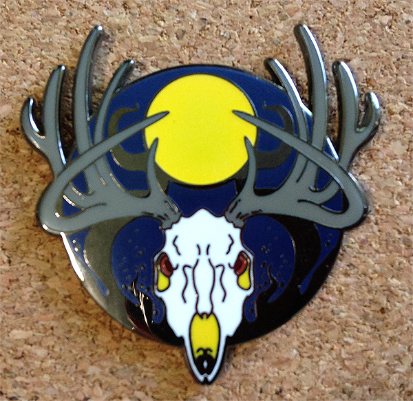 Herne Hard Enamel Pin